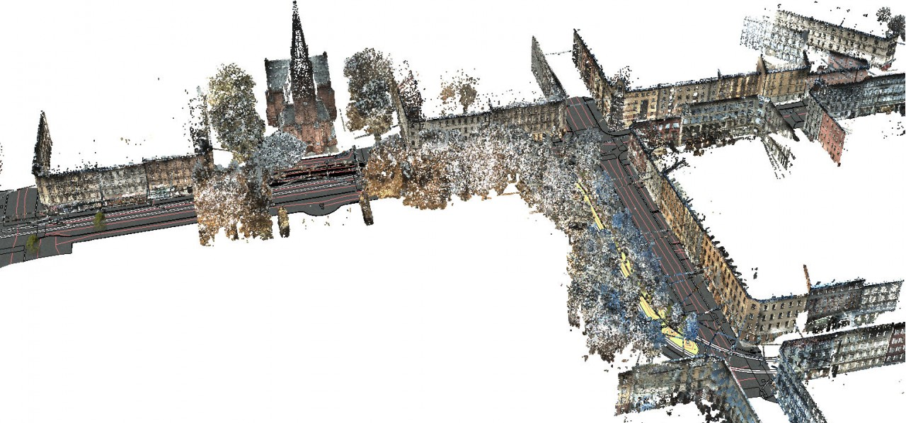 Thorvald meyers gate  project point cloud illustration