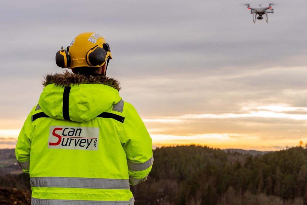 Langøyene – flyfoto og terrengmodell fra drone