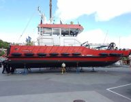 image of a boat on dry dock