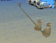3D-rør og 3D-kum med TIN terrengmodell og punktsky2