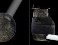 3D-rør og 3D-kum rør i kum samlet