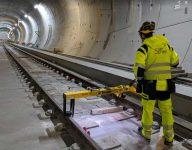 measuring train line track measurements