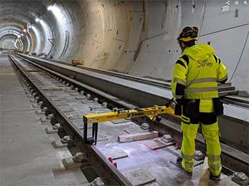 train line track measurements