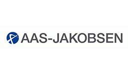 company reference with AAS jakobson company logo